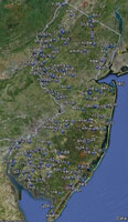 Overview of New Jersey Airfields.