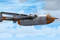 Screenshot of Noratlas N2501 GE316 in flight.