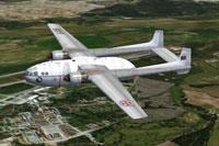 Screenshot of Nord-2501 D in flight.