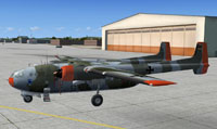 Screenshot of Nord 2501 Noratlas on the ground.