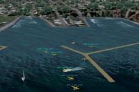 Screenshot of a Seaplane base.