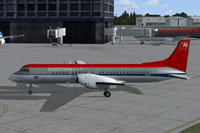 Screenshot of Northwest Airlines BAe ATP on the ground.