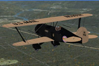 Screenshot of WACO in flight.