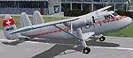 Screenshot of OFT Scottish Twin Pioneer on runway.