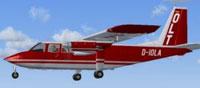 Screenshot of OLT Britten Norman BN-2B in flight.