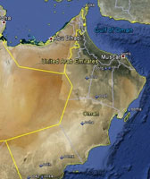 Overview of Oman Airfields.