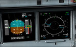 Screenshot of Airbus A340 Gauges.
