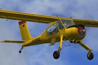 Screenshot of PZL-104 Wilga 35 D-EWRD in the air.