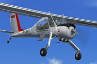 Screenshot of PZL-104 Wilga 35 in flight.