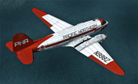 Screenshot of Pacific Northern Airlines Douglas C-47 in flight.
