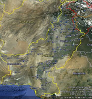 Overview of Pakistan Airfields.