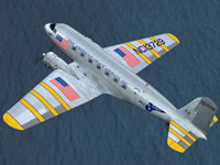 Screenshot of Pan American Grace Airways Douglas DC-2 in flight.