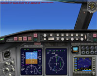 Screenshot of modern Twin-Engine Turboprop panel.