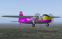 Screenshot of Peerhoven Bristol B170 in flight.