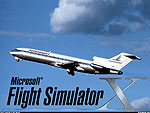Splash Screen showing a Piedmont B727-200 in flight.