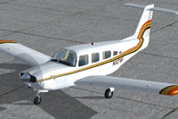 Screenshot of Piper PA-32RT-300 Lance II on the ground.