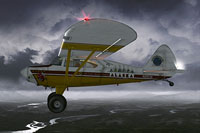 Screenshot of Piper Pacer PA20 Bush in flight.