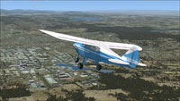 Screenshot of Piper Tri-Pacer VH-PIC in flight.