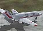 Screenshot of Poland Air Force Yak-40 on the ground.