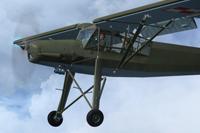 Screenshot of Polish Fi156 Storch ZKR in flight.