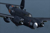 Screenshot of Lockheed PV-2 Harpoon in flight.