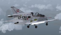 Screenshot of Private Bede BD-5G in flight.