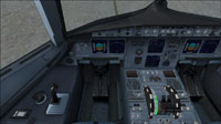 Screenshot of A321 cockpit.