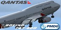 Screenshot of Qantas Boeing 747-400.