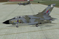 Screenshot of RAF GR1 Honington 13 Sqn on the ground.