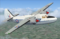 Screenshot of RAF Hunting P66 Pembroke C1 WV746 in flight.