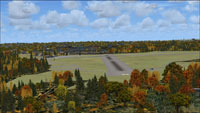 Screenshot of RAF Kenley scenery.