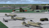 Screenshot of RAF Marham scenery.