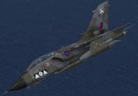 Screenshot of RAF Panavia Tornado GR1 2Sq in flight.