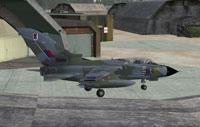Screenshot of RAF Tornado Bruggen on the ground.