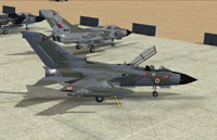 Screenshot of RAF Tornado Cottesmore on the ground.