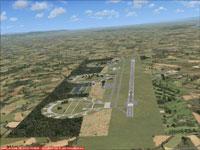 Aerial view of Baden-Sollingen Air Base.