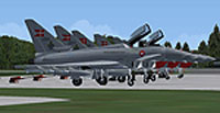 Screenshot of RDAF Skrydstrup Typhoon Squadron on the ground.