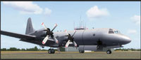 Screenshot of RNZAF Lockheed P-3K2 Orion on the ground.