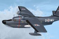 Screenshot of HU-16B ASW Albatross in flight.