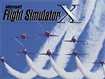 Splash Screen showing the Red Arrows flying in formation.