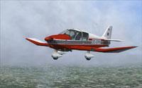 Screenshot of Robin DR400-140B in flight.