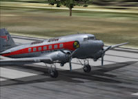 Screenshot of Robinson DC-3 preparing for take-off.