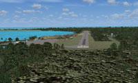 Screenshot of Bahamas scenery.