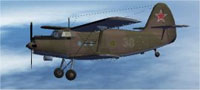 Screenshot of Russian Air Force Camo An2T in flight.