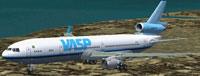 Screenshot of SMS Overland VASP MD-11 in flight.
