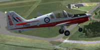 Screenshot of S.A. Bulldog Mk1 in flight.