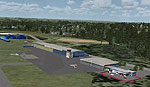 Screenshot of Saarlouis-Duren Airport scenery.