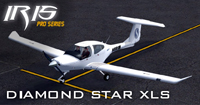 Screenshot of Sabena Diamond Star DA40 XLS on the ground.