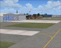 Screenshot of San Fernando International Airport.