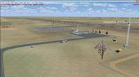 Screenshot of Sarakhs Airport scenery.